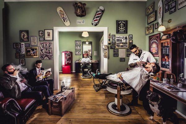 آرایشگاه مردانه دامادی